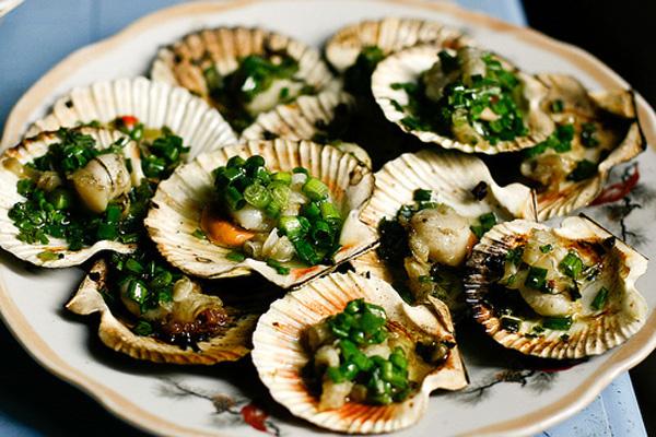 hải sản vịnh Lăng Cô Huế